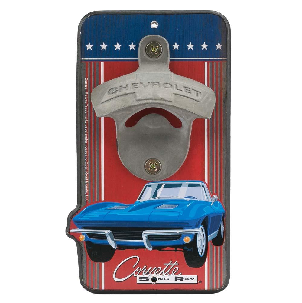 """Chevy Corvette Bottle Opener"""